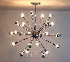 The Sputnik Lamp is a great celebration of mid-century modern design!