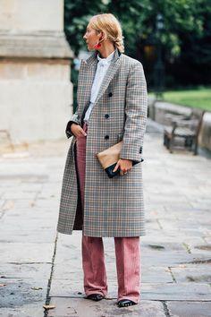 Уличный стиль: фото с Недели моды в Лондоне. Часть 2 | Мода | STREETSTYLE | VOGUE