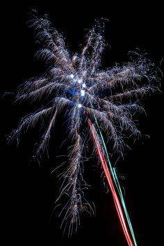 Gekleurde vuurwerk
