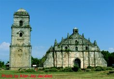 Pagudpud is just an hour's drive from Laoag City International Airport. From here, tourists can visit other popular destinations such as the Bangui Wind Farm, the Hispanic village of Vigan, and the old Paoay Church. Philippine Tours, Filipino, Vigan, Tourist Spots, International Airport, Wonderful Places, Philippines, Bing Images, Islands