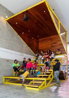 """""""La Cineteca"""": equipamiento colectivo para la consolidación de las comunidades"""