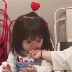 Cute Anime Profile Pictures, Matching Profile Pictures, Cute Anime Pics, Cute Asian Babies, Korean Babies, Cute Babies, Cute Chinese Baby, Cute Kids Photography, Cute Baby Girl Pictures