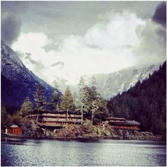 Club Malibu, Princess Louisa Inlet, Canada - Miss this place! Wish they had a picture of the path from the zipline!
