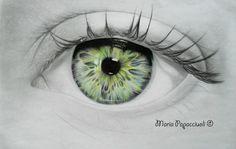 Eye - WIP by MariArt91.deviantart.com