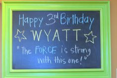 star wars chalkboard