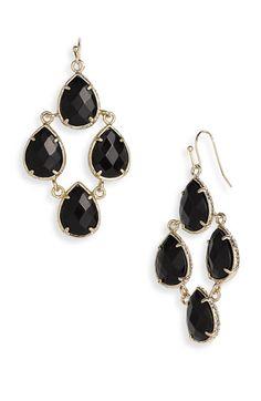 Chandelier earrings by Kendra Scott
