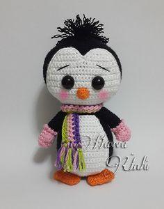Cute Penguin (Amigurumi Crochet) pattern by Havva Ünlü