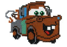Cars character Hama beads