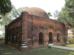 The Goaldi Mosque at Sonargaon near Dhaka, Bangladesh, dates from a time when the capital of Bengal was here. Matches Today, Interior Photo, Travel News, Bengal, Vintage Photographs, Barcelona Cathedral, Taj Mahal, Building, Pictures