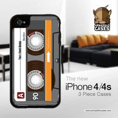 Cassette tap   iPhone 4 case
