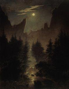 İyi Geceler Caspar David Friedrich!