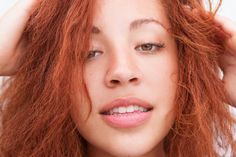 """Kim Johnson Advertising Coordinator, Into The Gloss  """"My red hair is natural..."""