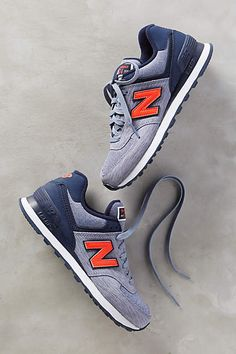 New Balance 574 Sneakers--these are going to be great for football season. 86cc959fcfd