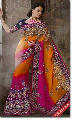 Cbazaar-Divine-Resham-Enhanced-Viscose-Saree