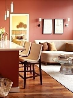 Red: Ben Moore Mayflower Red  Best Paint Colors For Interiors