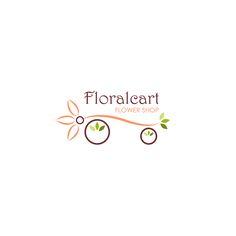 Floralcart Flower Shop Logo (version 2)