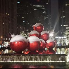 christmas in new york city | English (US)