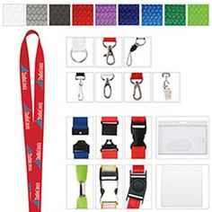Weave your promotional message on a colorful surface! You get factory direct, custom choices with this polyester woven lanyard. Pick your color with your choice of hook. Mix and match from a wide variety of colors, widths, hooks and decoration methods. Low minimums are available with 250 units plus fast delivery. Lanyards will ship with split ring accessory unless otherwise specified. Optional upgrades are available. You imagine it, we deliver it!  Less than minimum not available on this…