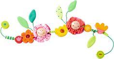 HABA Kinderwagenkette Blüten Blumen 70 cm lang - Bonuspunkte sammeln, auf Rechnung bestellen, DHL Blitzlieferung!