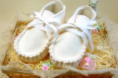 How to design felt baby shoe pattern