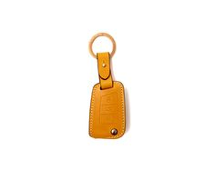 volks wagen 7 generation_3button folding Handmade Buttero Leather Smart Key Cover/Case   -Handmade by: Custom Republic  -Leather: Vegetable leather from Conceria Walpier & Vera Pelle -Attachment pieces: 18K gold satin coating - Colors: natural, yellow, orange, brown, navy, and camouflage -Thread & Stitching: Serafil (from Germany)  -Measurement: 5.5cm x 14cm