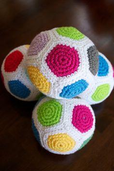 crochet baby ball