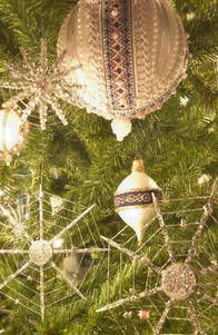 Ukrainian Christmas Tree decorations at Chicago Museum of Science and Industry