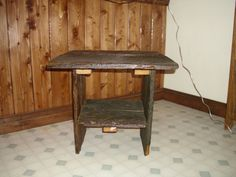 RECLAIMED WOODEN TABLE by KellysCountryStore on Etsy, $45.00