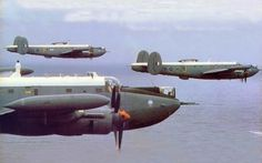 SAAF Shackleton of 35 Sqn.in formation over the Peninsula in Air Force Aircraft, Navy Aircraft, Ww2 Aircraft, Military Jets, Military Aircraft, Avro Shackleton, South African Air Force, Once Were Warriors, Battle Rifle