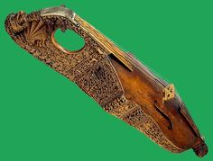 Not only is this stunning citole the only surviving piece of it's kind, it was also played by Robert Dudley to Elizabeth I.