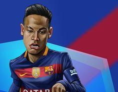 "Check out new work on my @Behance portfolio: ""Neymar cartoon"" http://be.net/gallery/54710485/Neymar-cartoon"