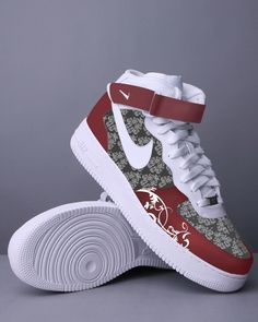 https://www.cityblis.com/3127/item/5923 | The elegance (Custom) - $350 by Sketch Couture | Custom Painted Air Force One.  | #Athletic