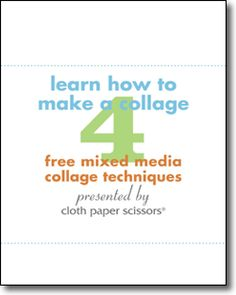 Learn how to make a collage and create unique collage art with this free collection!