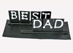 Father's Day Crafts: Best Dad Desk Accessory - Kids' Gift Ideas for Dad - Kaboose.com