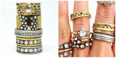Some designers make great style alternatives for engagement rings for both men and women!