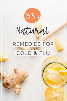 These natural remedies for cold and flu are perfect for busy moms. They can be made using ingredients already in your pantry, saving you time and money! Includes natural remedy for cough, sore throat, cold and flu. Cough Remedies For Kids, Home Remedy For Cough, Natural Cold Remedies, Cold Home Remedies, Holistic Remedies, Herbal Remedies, Natural Medicine, Herbal Medicine, Childrens Cough
