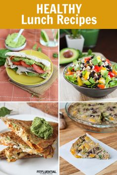 Healthy Packable Lunch Ideas from our talented FitFluential Ambassadors and community! #recipes