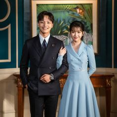 ManChan Couple😍😍😍❤️Perfect together ❤️❤️ . New Korean Drama, Korean Drama Movies, Korean Actresses, Korean Actors, Korean Celebrities, Celebs, Luna Fashion, Jin Goo, O Drama