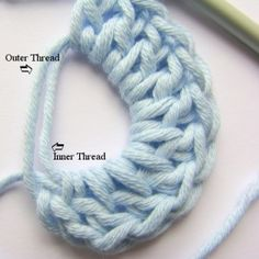 Crochet Stitch Tutorial: How to do the Magic Circle (also known as Magic Ring or Magic Loop)