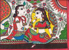 madhubani paintings fish