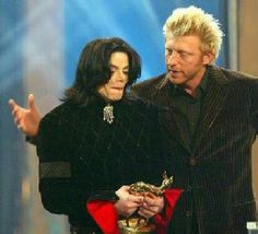 MJ...Boris Becker. ...