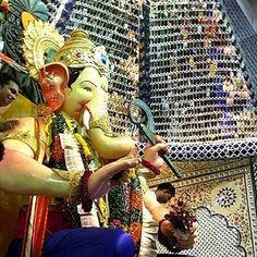 New pin for Ganpati Festival 2015 is created by by sahil_14698 with #lalbaugcharaja #ganpatibappamorya #mumbai #ganpati #darshan #morya #india #ganesha #love #festival #spiritual #god #instalike #ganeshgalli #friends #bappa #igers #ganeshchaturthi #queue #_soi #ganesh #festive #indianfestival #instapic #mumbaikar #selfie #fun #lalbaug #blessed #ganpatibappa