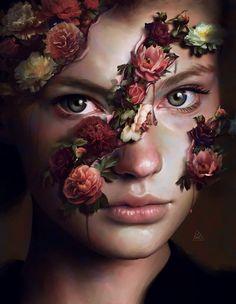 Le illustrazioni surreali e iperrealistiche dell'artista digitale Aykut Aydoğdu simulano la pittura ad olio e ondeggiano fra poesia e inquietudine