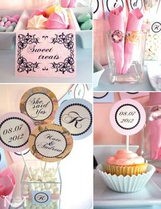 engagement party- i want to make little signs like this... where can we put them.. hmmmm