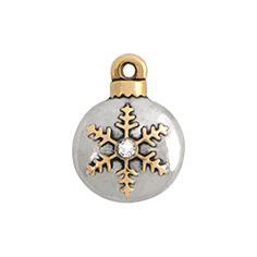 ORIGAMI OWL LIMITED EDITION SNOWFLAKE ORNAMENT WITH CRYSTAL ACCENT CHARM | HOLIDAY COLLECTION 2015