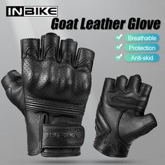 INBIKE Winter Motorcycle Gloves Mens Waterproof Warm Motorbike for Men Hard Knuckle Protection
