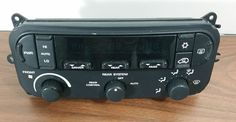 01-07 CARAVAN TOWN & COUNTRY CLIMATE CONTROL A/C HEATER 3-ZONE OEM # P05136781AC #Chrysler