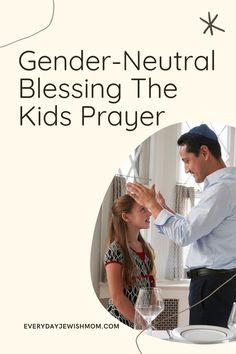 The Jewish blessing for children that is done on Shabbat is traditional divided between girls and boys. This is a combined blessing for all kids. #shabbat #shabbatshalom #challah Shabbat Prayers, Hanukkah Crafts, High Holidays, Bless The Child, Prayers For Children, Jewish History, Challah, Gender Neutral