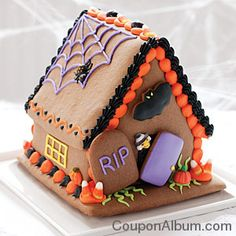 Gingerbread halloween houses | Mackenzie Limited Halloween Special: $10 OFF $25 | Online Shopping ...
