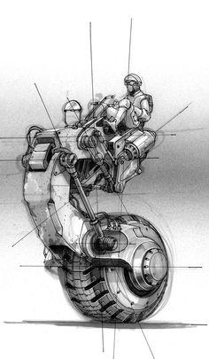 Sci-Fi & Space / Doug Chiang stap concept